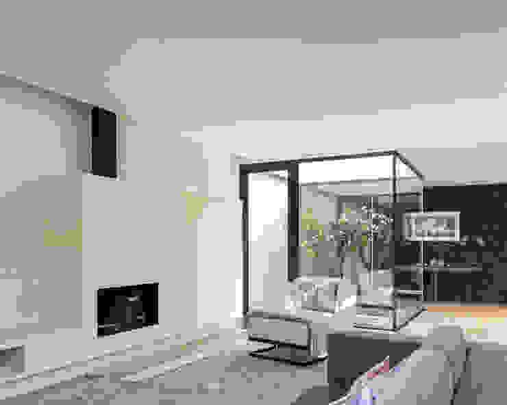 Moderne Wohnzimmer von Bruno Braumann - Fotografia de Arquitectura e Interiores Modern