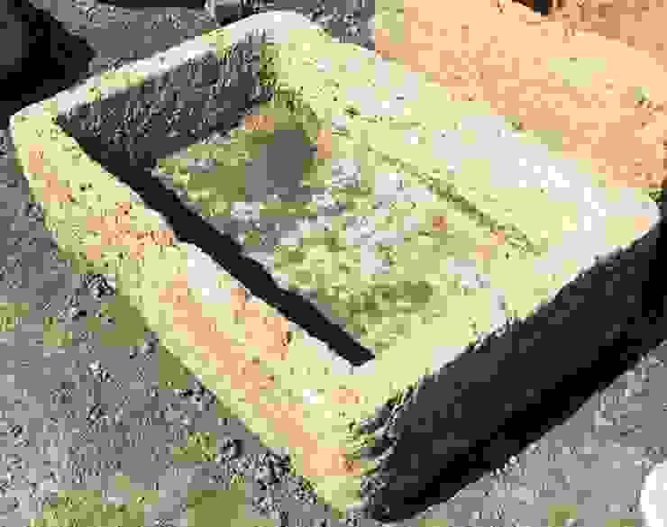 Pila de piedra de Anticuable.com Mediterráneo Piedra