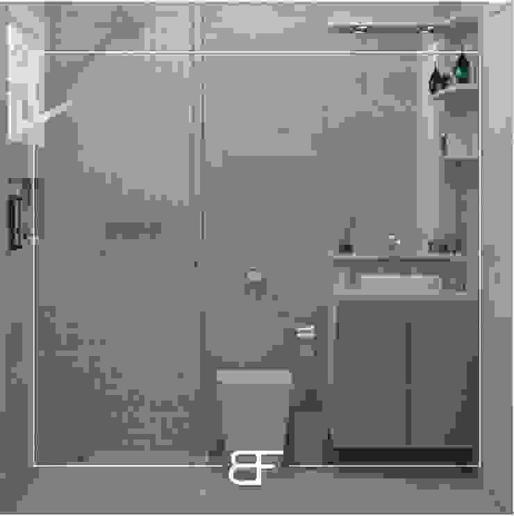 Modern bathroom by Brancaccio & Fortuna - Arquitetura e Engenharia Modern Ceramic