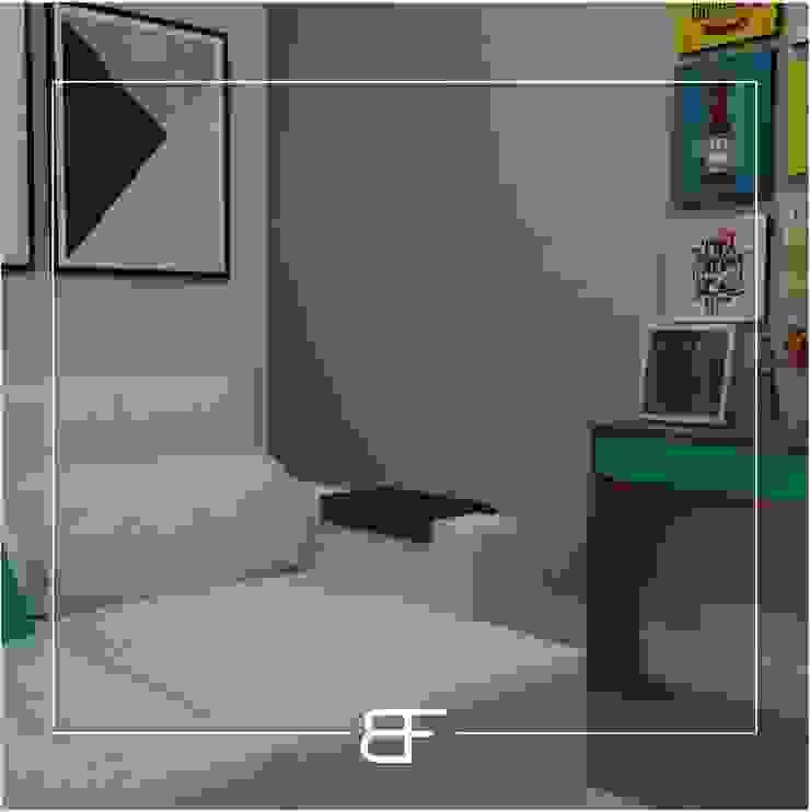 Modern media room by Brancaccio & Fortuna - Arquitetura e Engenharia Modern