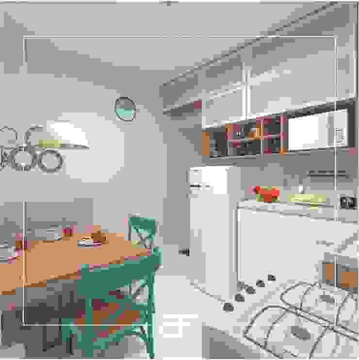 by Brancaccio & Fortuna - Arquitetura e Engenharia Modern MDF