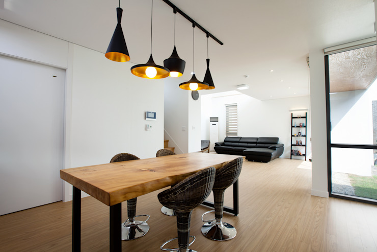 HOUSE DAM 디자인그룹 콜라보 모던스타일 거실