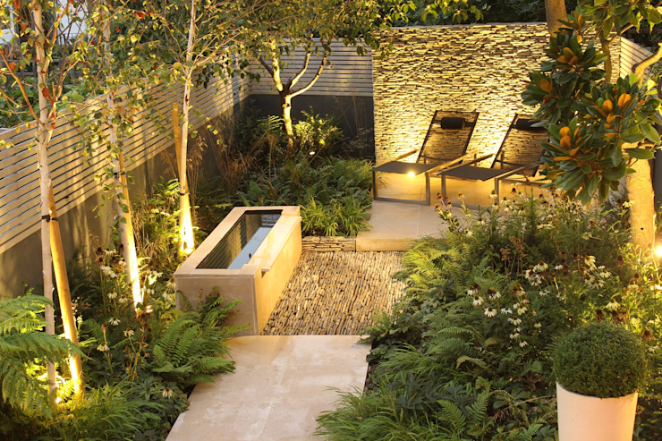 London Townhouse Garden Daniel Shea Garden Design Modern style gardens