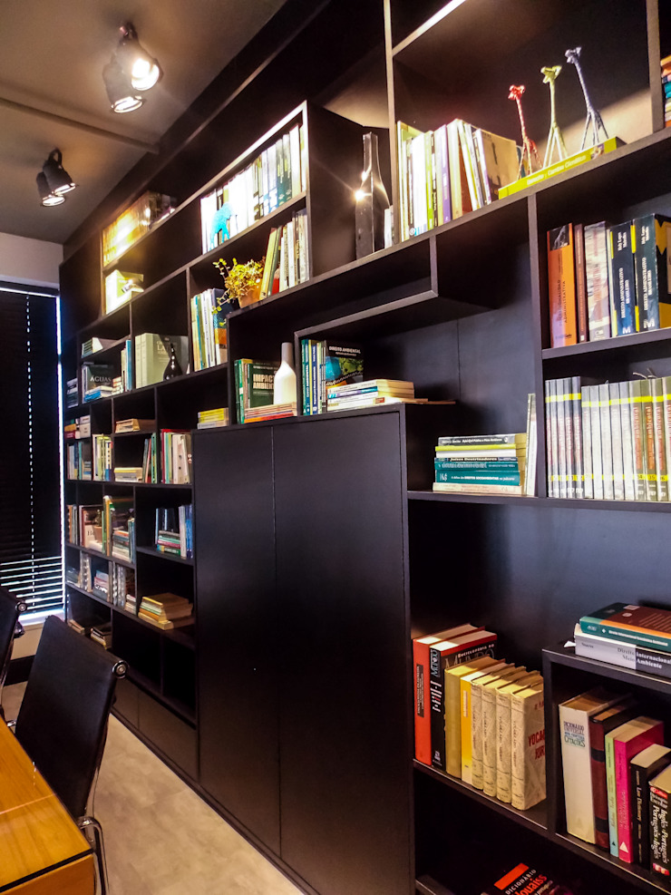 Modern Study Room and Home Office by studiok arquitetura Modern