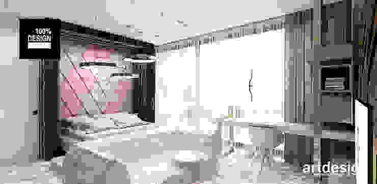 LIGHT MY FIRE | II | Wnętrze domu ARTDESIGN architektura wnętrz Nowoczesna sypialnia