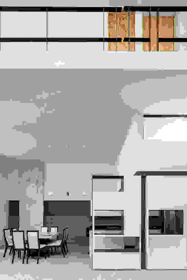 Casa-estudio Choi CEC Comedores modernos de CUBO ROJO Arquitectura Moderno