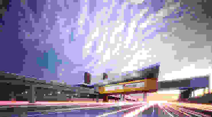 KARANG TENGAH toll gate Oleh GUBAH RUANG studio