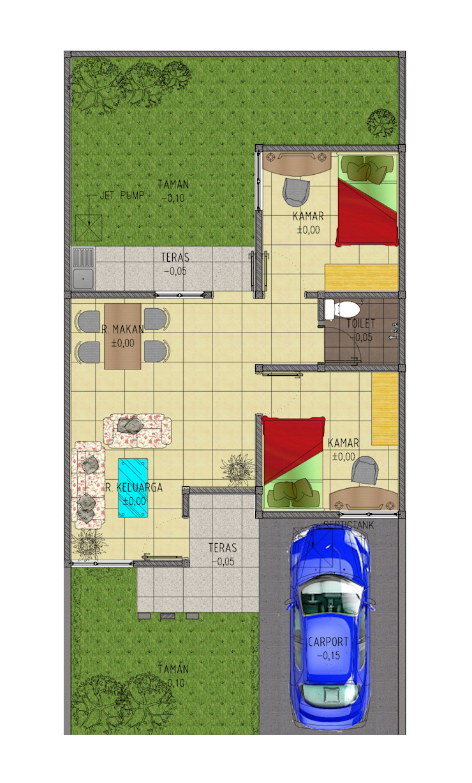 B residence Oleh GUBAH RUANG studio