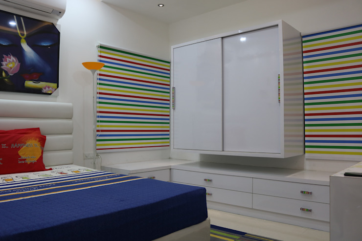 Children Bedroom Asian style bedroom by Enrich Interiors & Decors Asian