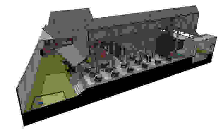 B restaurant Oleh GUBAH RUANG studio
