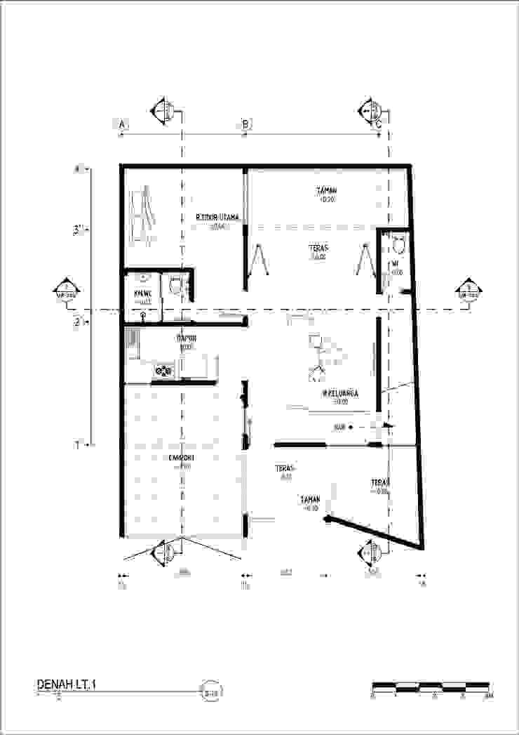 A residence Oleh GUBAH RUANG studio