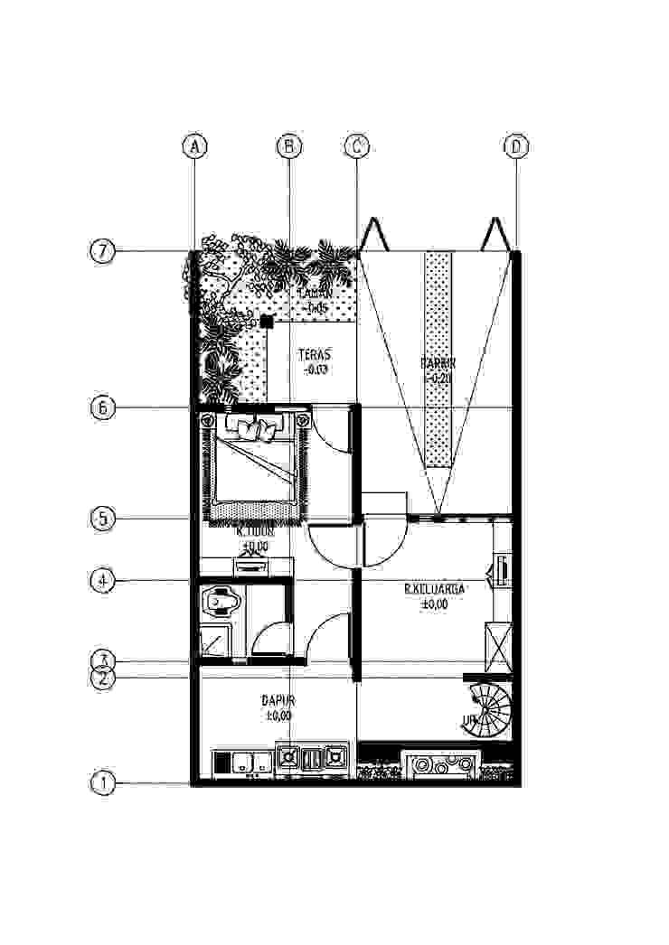 R House Oleh GUBAH RUANG studio