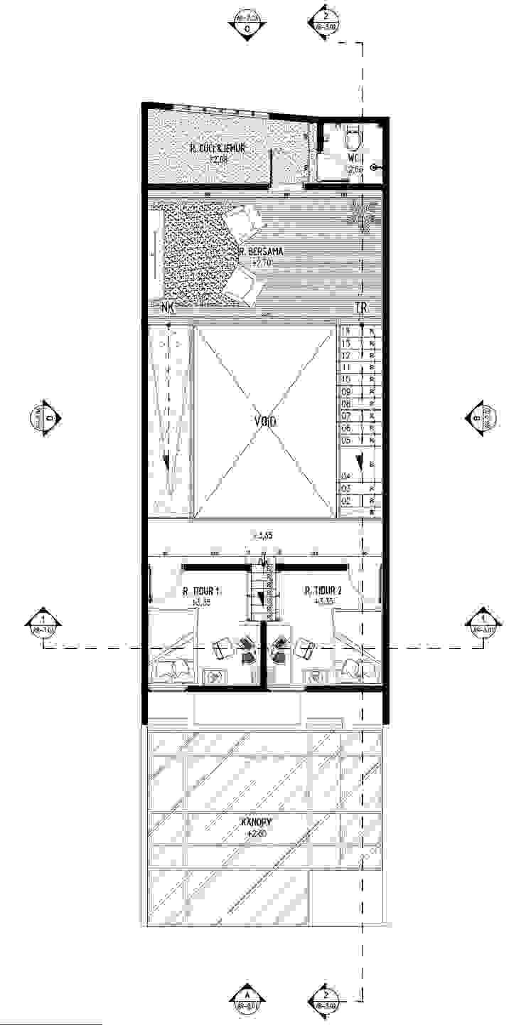 A2-House Oleh GUBAH RUANG studio