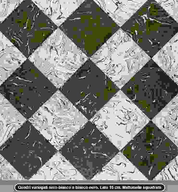 Handcrafted terracotta flooring: Padania historic floors by Terrecotte Europe Середземноморський Плитки