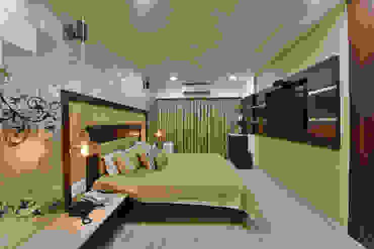 Mr. Doshi's Residence Modern style bedroom by Banaji & Associates Modern