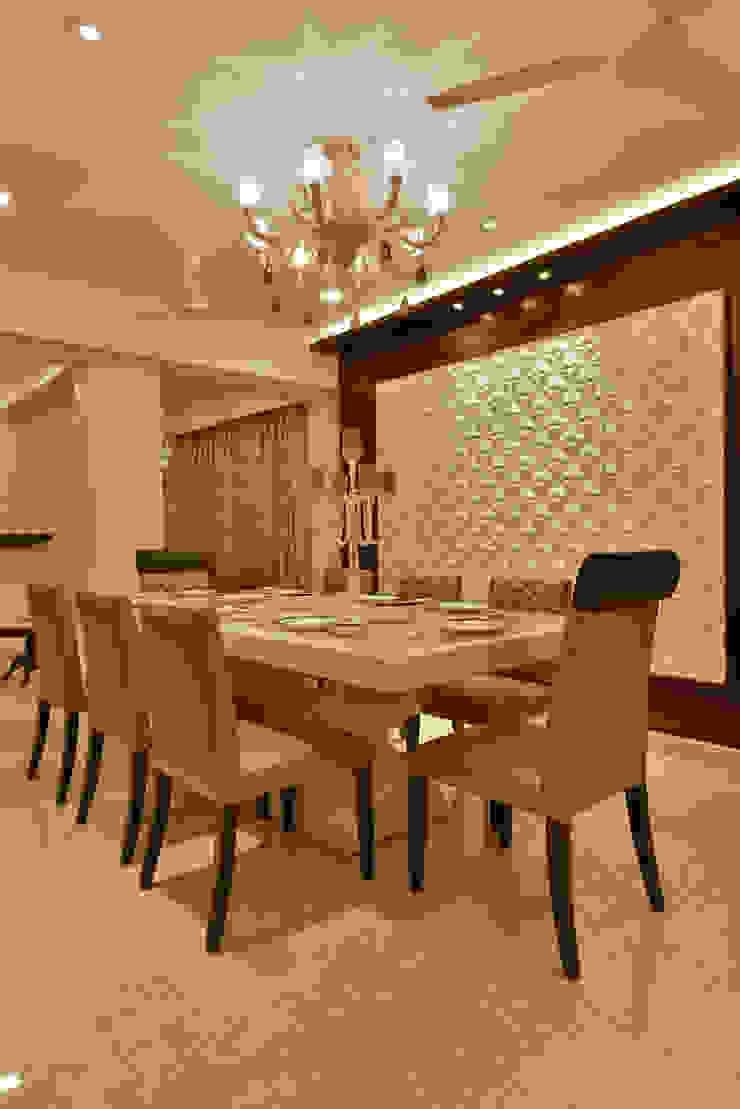 Mr. Doshi's Residence Modern dining room by Banaji & Associates Modern