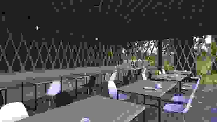 Interior Design PT Antam Pongkor Balkon, Beranda & Teras Modern Oleh CAA Architect Modern