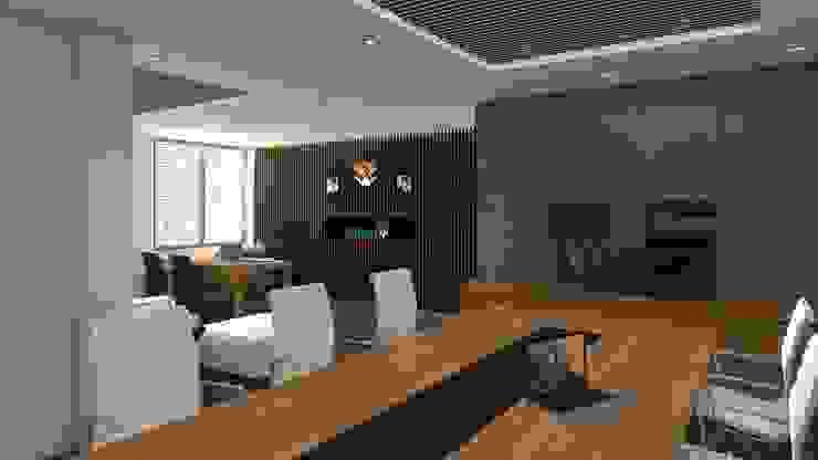 Interior Design PT Antam Pongkor Dapur Modern Oleh CAA Architect Modern