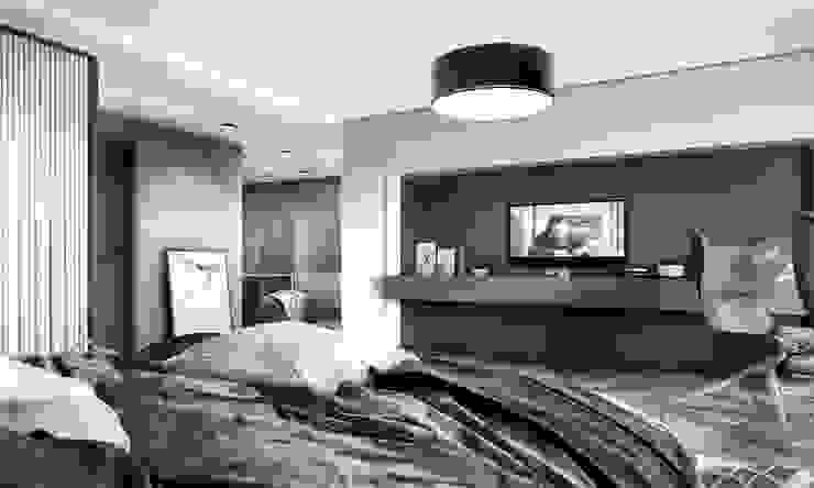 Kalafatoğlu Villa İç Mekan Modern Yatak Odası VERO CONCEPT MİMARLIK Modern