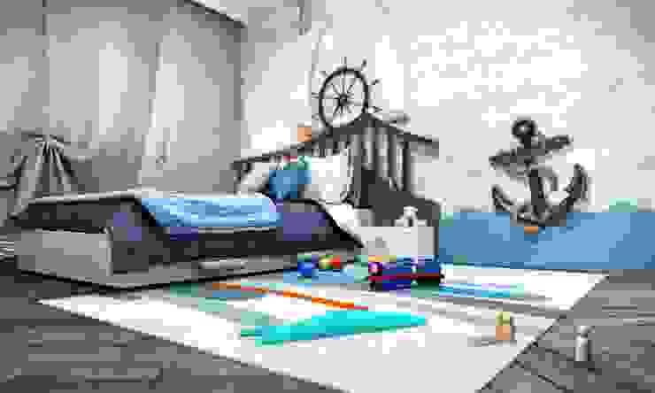 Kalafatoğlu Villa İç Mekan Modern Çocuk Odası VERO CONCEPT MİMARLIK Modern