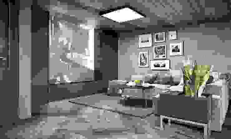 Kalafatoğlu Villa İç Mekan Modern Multimedya Odası VERO CONCEPT MİMARLIK Modern