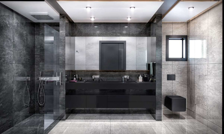 Kalafatoğlu Villa İç Mekan Modern Banyo VERO CONCEPT MİMARLIK Modern