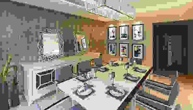 Ruang Makan oleh SIGMA Designs, Modern