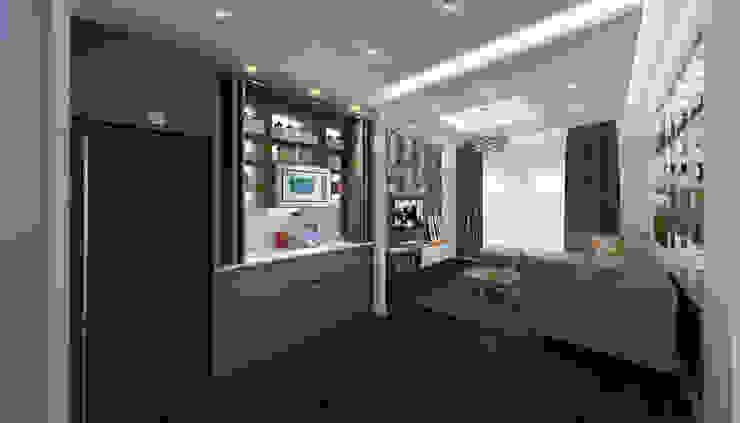 Nowoczesny salon od SIGMA Designs Nowoczesny
