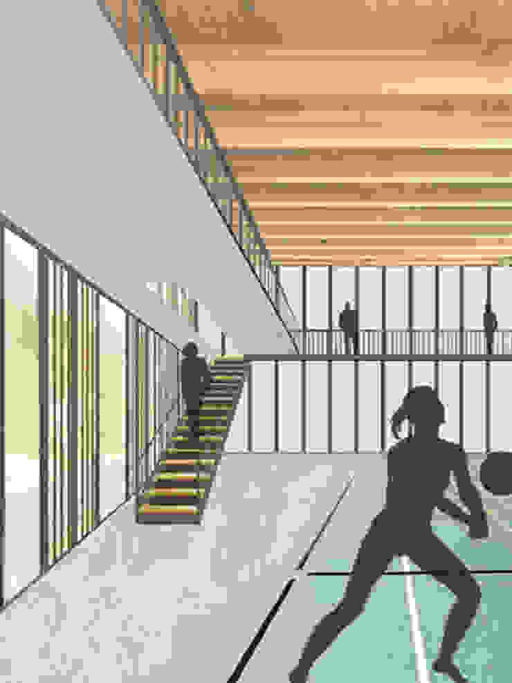 atelier architettura Modern Fitness Odası
