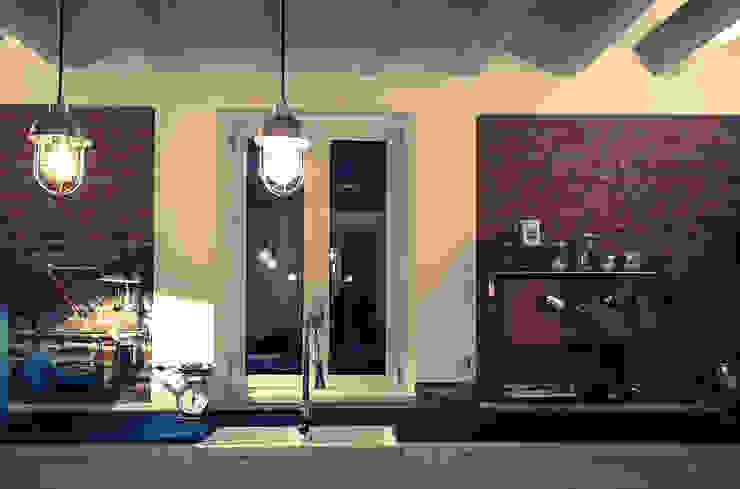 atelier architettura Cocinas de estilo rural