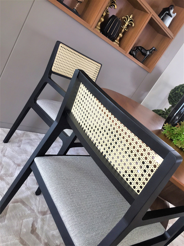 Sgabello Interiores Dining roomChairs & benches Wood Black