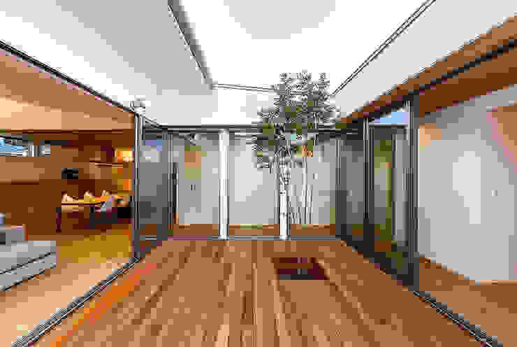 Taman Gaya Skandinavia Oleh 一級建築士事務所haus Skandinavia Kayu Wood effect