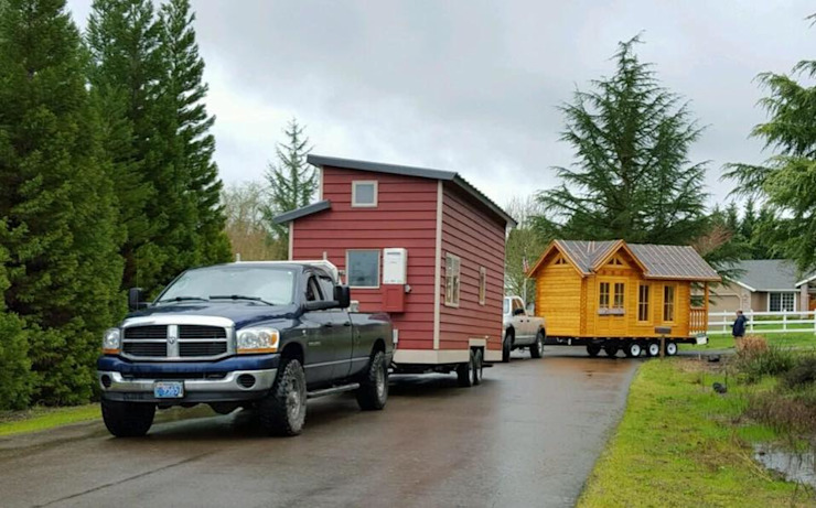 Mobile houses in USA Modern Houses by ERGIO Wooden Houses Modern