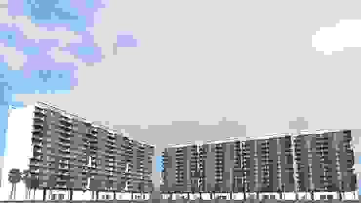 根據 SG Huerta Arquitecto Cancun 現代風 水泥