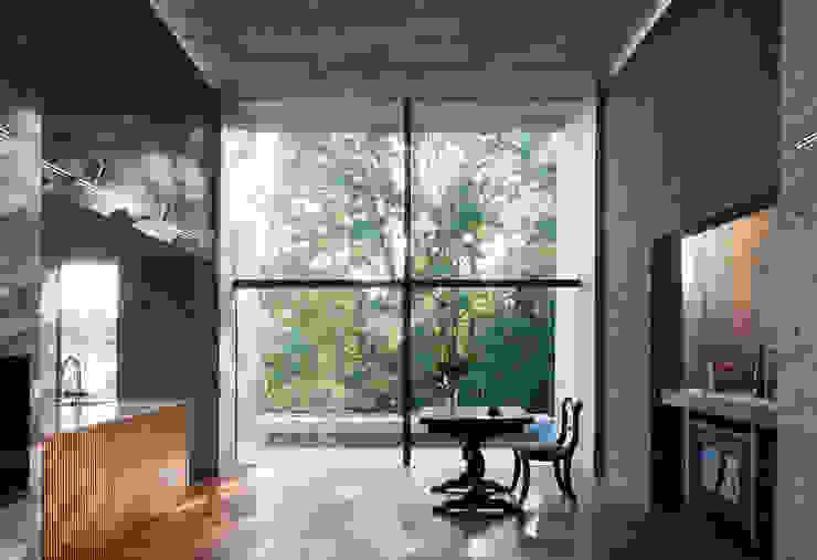 茨木の森 山本雅紹建築設計事務所 一戸建て住宅 木 緑