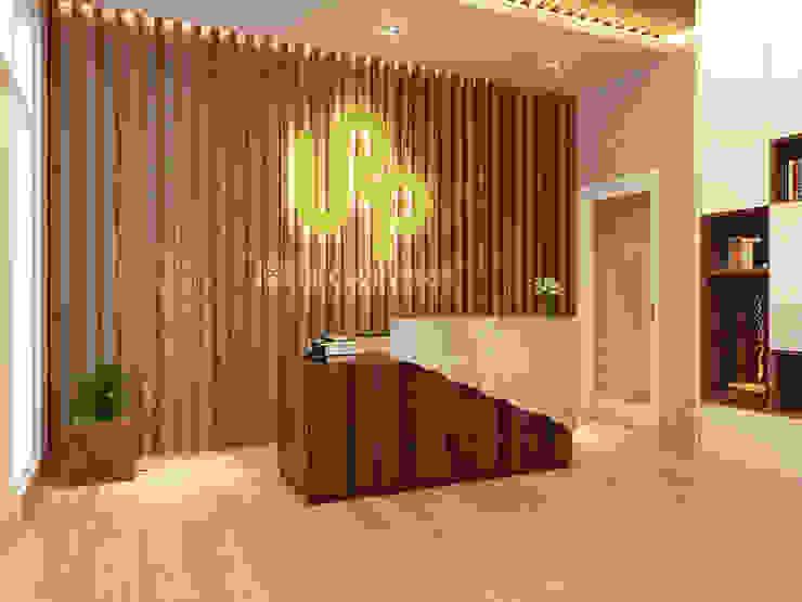 COMPACT & EFFICIENT OFFICE @ GREENLAKE CITY, TANGERANG Kantor & Toko Modern Oleh PT. Dekorasi Hunian Indonesia (DHI) Modern