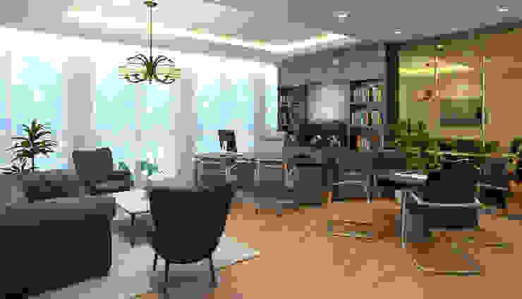 MODRRN & COLORFULL WORKSPACE @ MEGA KUNINGAN, JAKARTA Kantor & Toko Modern Oleh PT. Dekorasi Hunian Indonesia (DHI) Modern