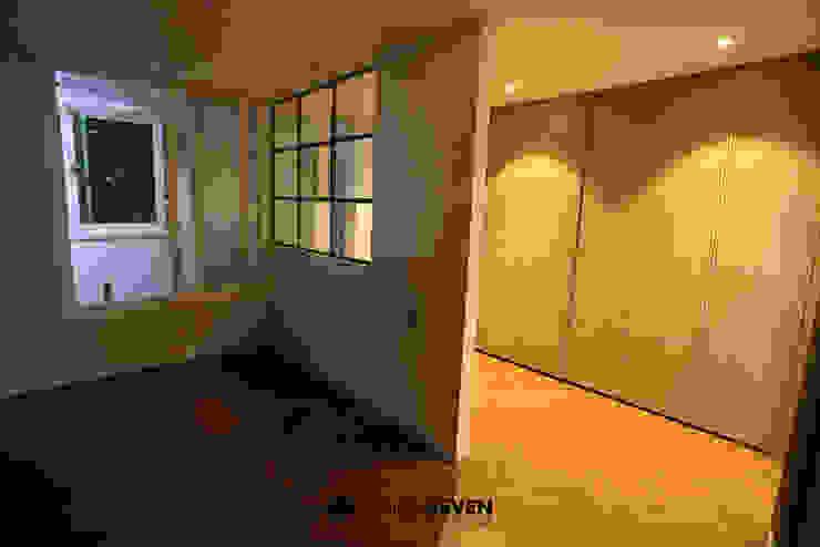 용호롯데 APT: 디자인세븐의 현대 ,모던 합판