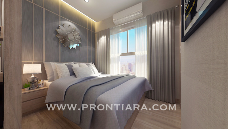 Morden luxury plum condo decorating start 150,000฿ โดย Prontiara โมเดิร์น