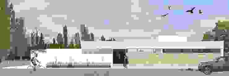 DDBB Arquitectos Casas modernas