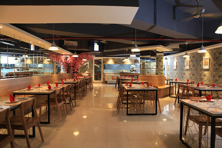 Gastronomía de estilo moderno de PT. Dekorasi Hunian Indonesia (DHI) Moderno