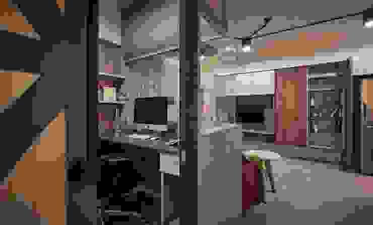Oficinas y bibliotecas de estilo moderno de 勁懷設計 Moderno