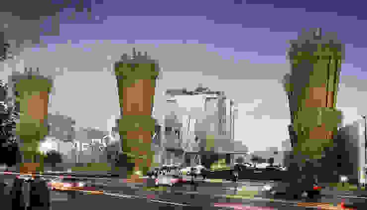 3D Modelling Aero City Lampung:modern  oleh CAA Architect, Modern