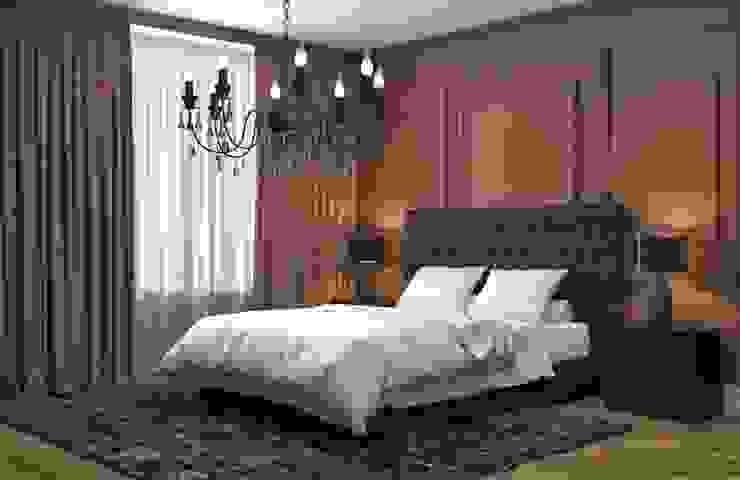 Natural Tones - Bedroom: minimalist  by Rebel Designs,Minimalist Copper/Bronze/Brass