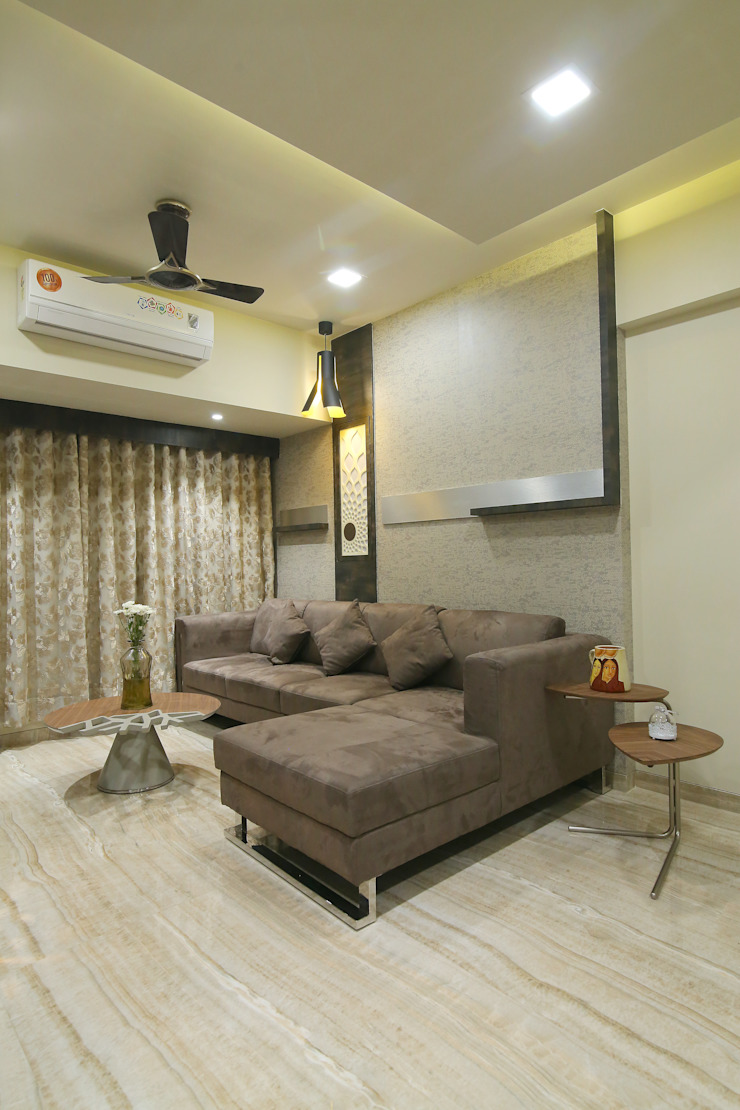Interior 2 Modern Living Room by DaVi Studio Modern