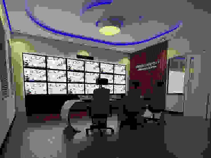Command Center Kantor Pengelola Green Lake City Bangunan Kantor Modern Oleh CAA Architect Modern