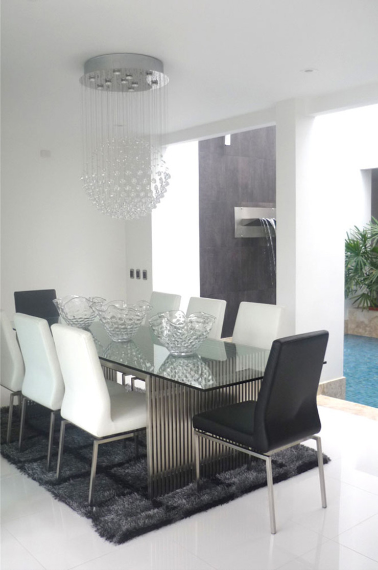 Casa Vega aruachan Comedores de estilo minimalista de mínimal arquitectura Minimalista