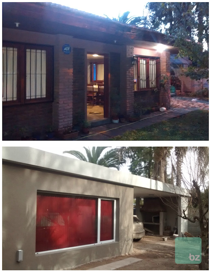 Antes & después de Arquitectura Bur Zurita Moderno