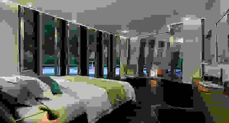 Dormitorio Dormitorios de estilo moderno de AVANTUM Moderno