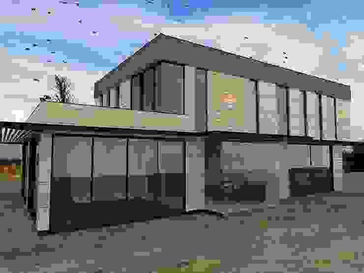 от Murat Aksel Architecture Модерн Дерево Эффект древесины